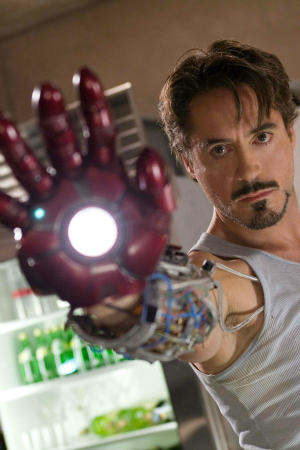 Iron Man III's Robert Downey Jr.