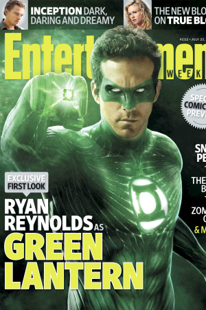 The Green Lantern's Ryan Reynolds