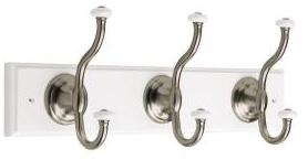 18-inch coat hooks