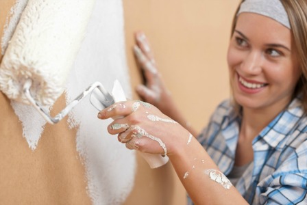 Home improvement - Painting the walls