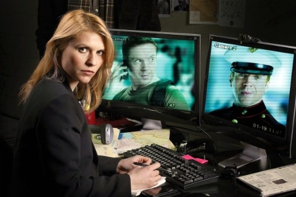 Claire Danes in Homeland