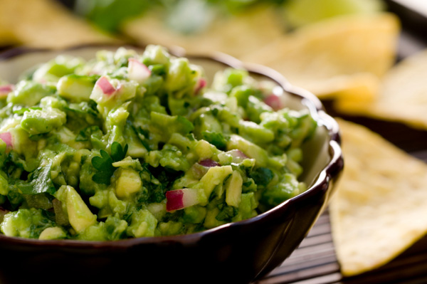 Tropical mojito guacamole recipe