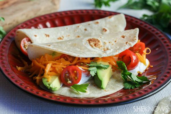 Homemade tortillas -- Step 10