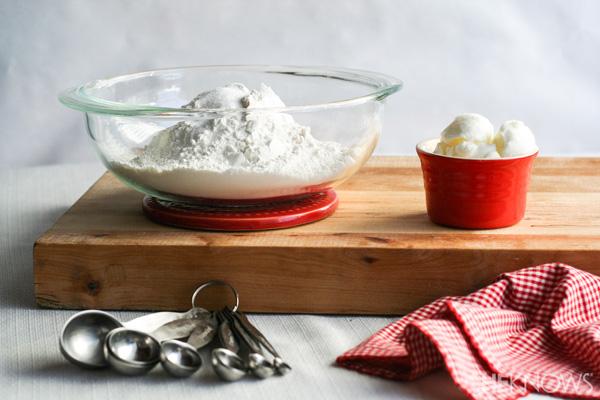 Homemade tortillas -- Step 1