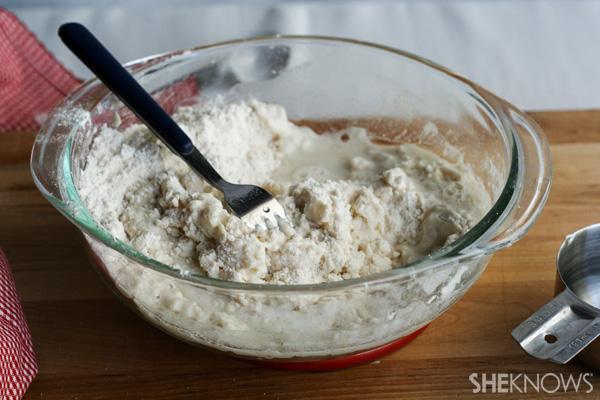 Homemade tortillas -- Step 3a