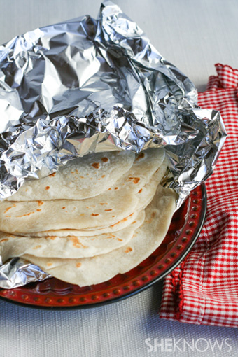 Homemade tortillas -- Step 9