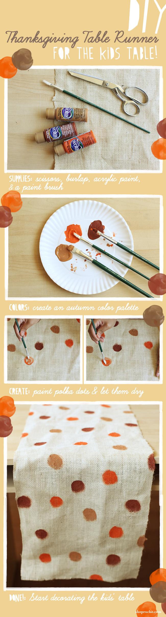 Homemade table runner | Sheknows.com