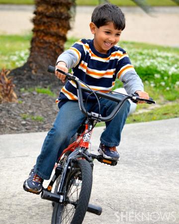 Homeschooling boys - Bike ride