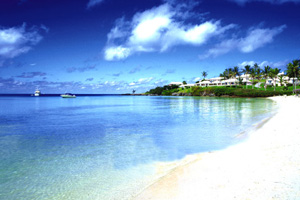 Cambridge Beaches Resort on a Bermuda beach