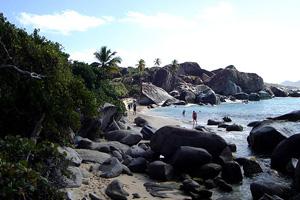 Virgin Gorda in the Brisit Virgin Islands as a great honeymoon destination