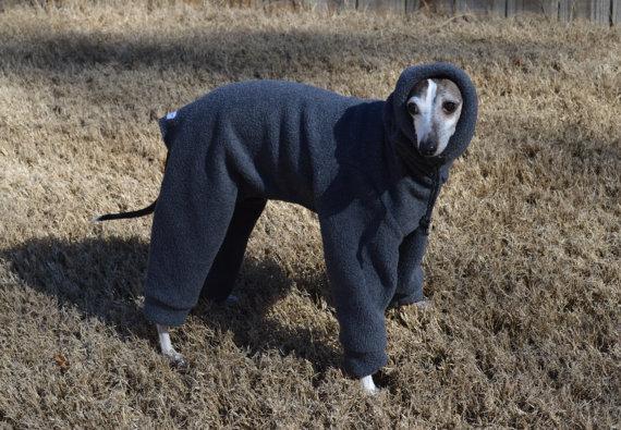 fleece snoodie pajamas for large dogs