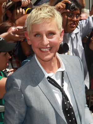 Ellen DeGeneres suit