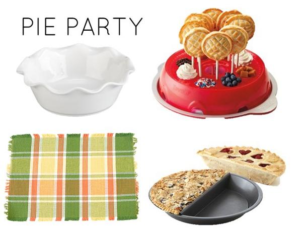 Pie party theme