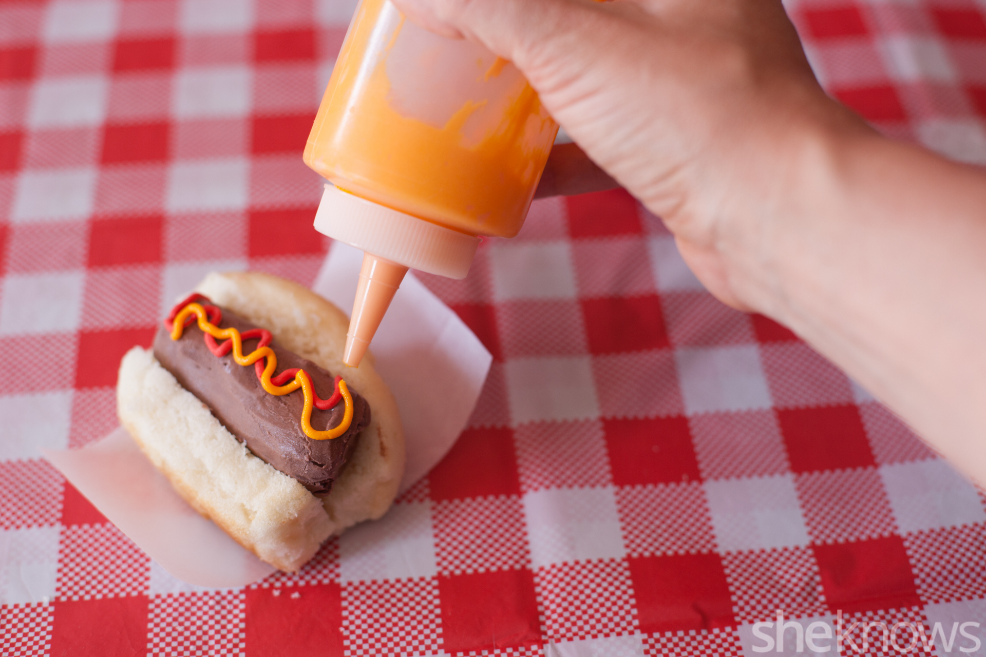 how to make cake ice cream hot dogs