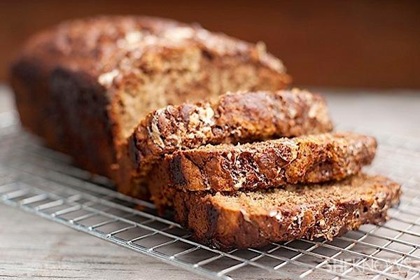 Chocolate Fluffernutter banana bread recipe