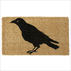 Black crow mat