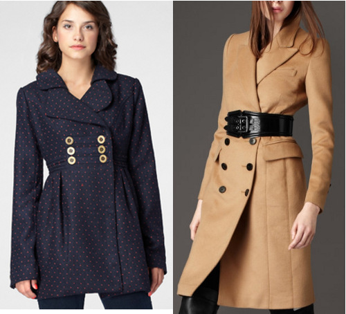 Structured coats