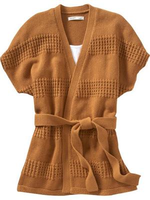 Hourglass shape sweater