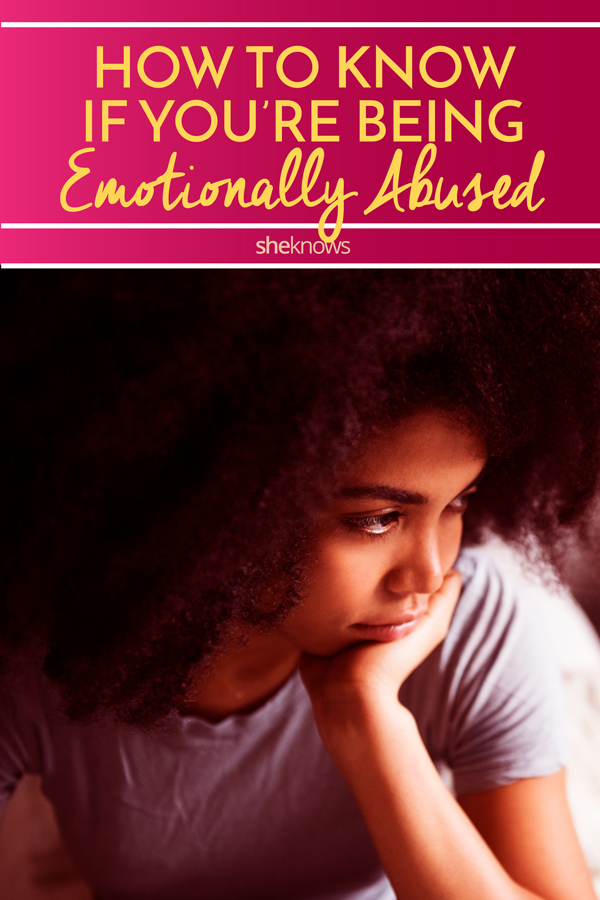 How to know if you're being emotionally abused