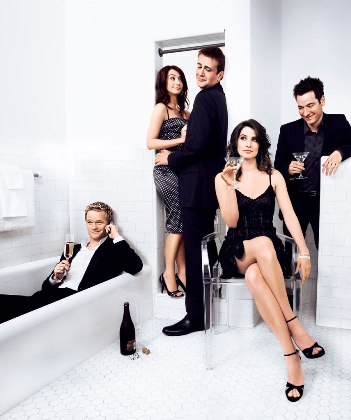 How I Met Your Mother has reason to toast