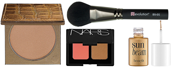 Enhance your facial bone structure with added powder bronzer