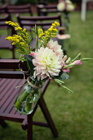 Make your flowers do double duty