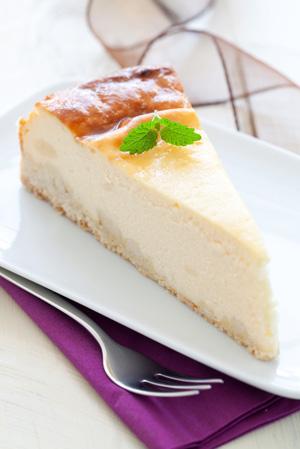How to fake a cheesecake