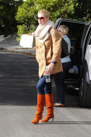Katherine Heigl'slayered look