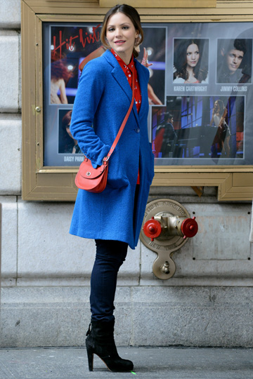 Katharine McPhee'slayered look