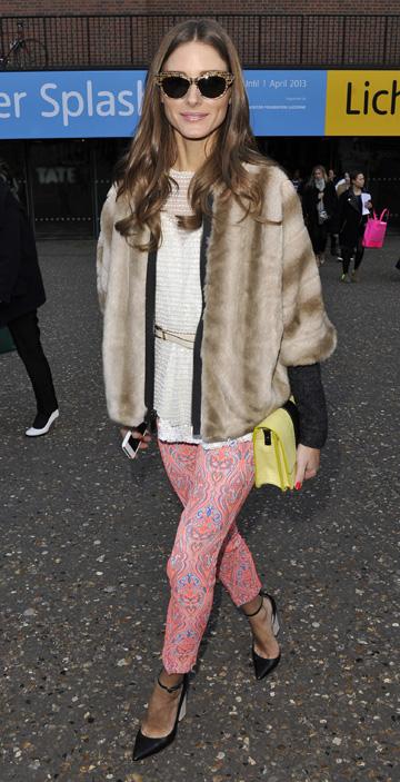 Olivia Palermo'slayered look