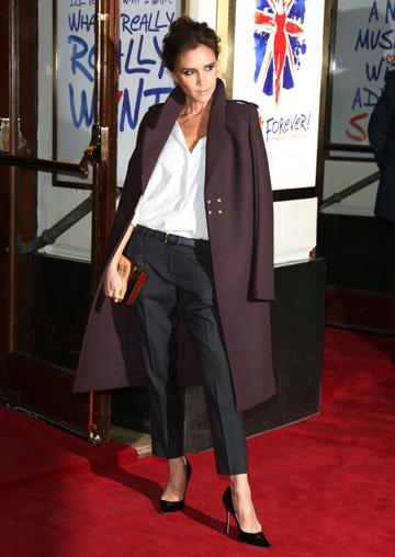 Victoria Beckham'slayered look