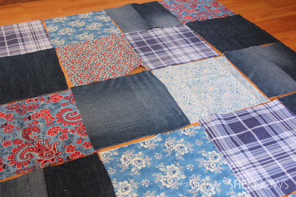 Simple memory quilt
