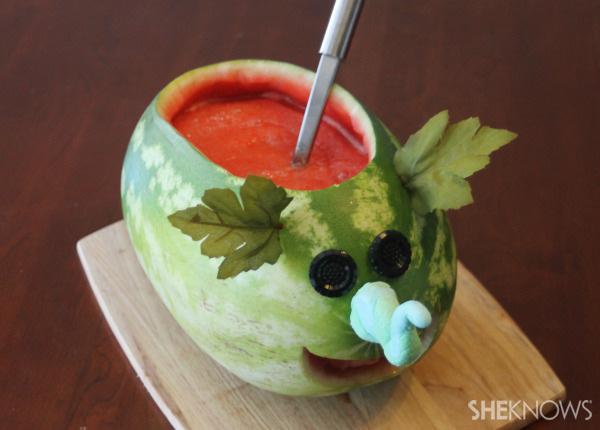 How to make a watermelon elephant serving bowl | SheKnows.com