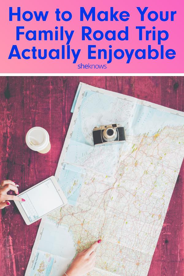 How to make a family road trip actually enjoyable