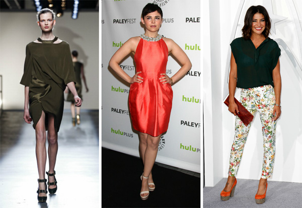 How to pair military green and orange