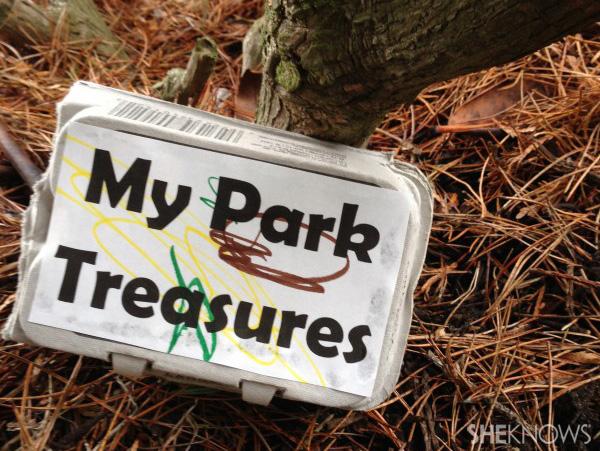 Local park treasure hunt