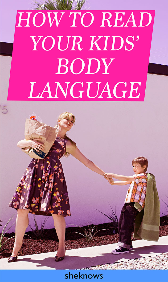 What is your child telling you with their body language?