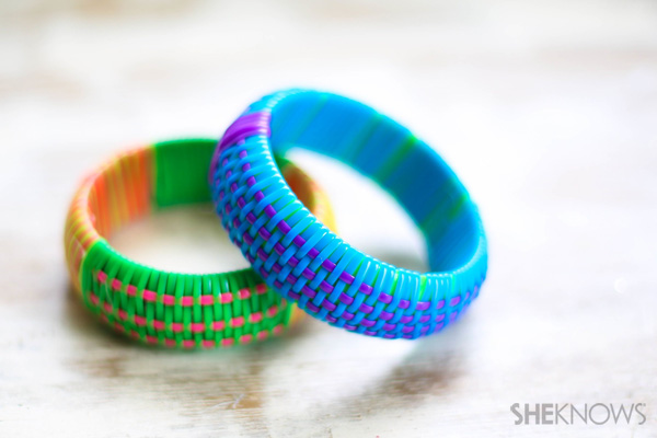 How to replicate designer bangles