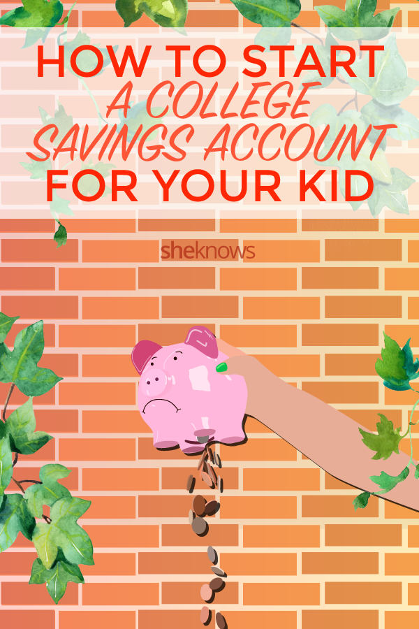 How to start a college savings fund for kids