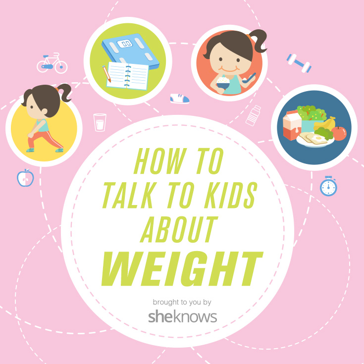 how to talk to kids about weight