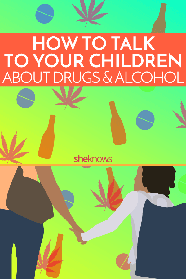 how to talk to kids about drugs and alcohol