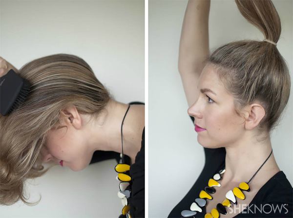 How to: Top knot hairstyle tutorial