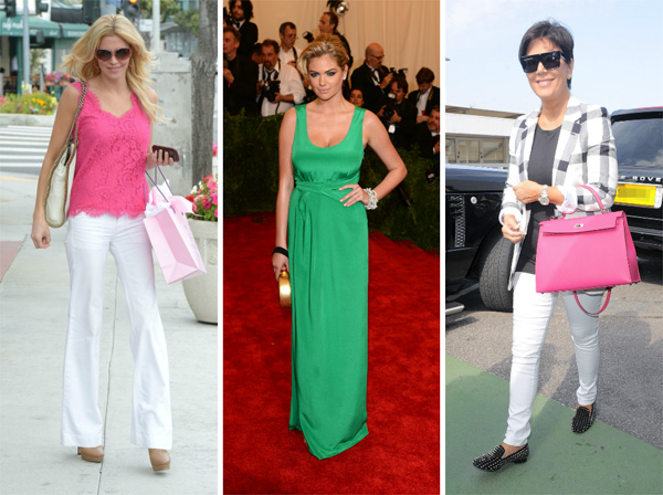 How to wear fuchsia and green this summer
