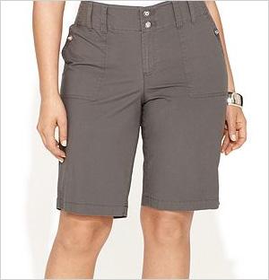Rhinestone Utility Shorts, INC International Concepts (Macy's, $60)
