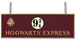 Train banner - Harry Potter