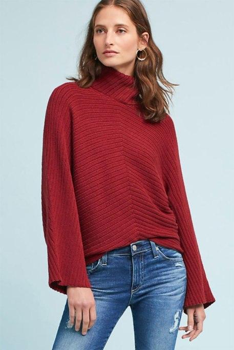 Ways To Wear A Turtleneck | Tisbury sweater