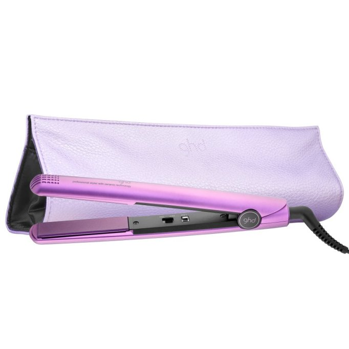 Beauty Products That Will Sell Out Fast This Holiday Season | Ghd Classic 1 Purple Styler Bundle