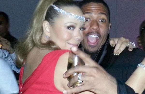 Mariah Carey celebrates NYE in Oz