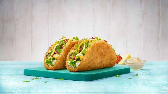 Taco Bell Crispy Potacos