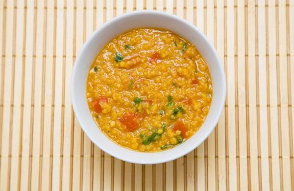Slow cooker yellow lentil dahl